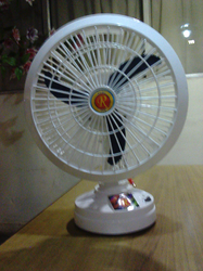 Solar Table Fan-14