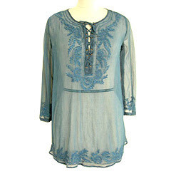 Chiffon Kurti with Resham Work