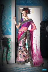 Pleasing Lehenga Sarees Collections