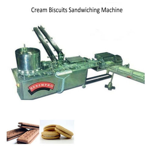 Cream Biscuits Sandwiching Machine