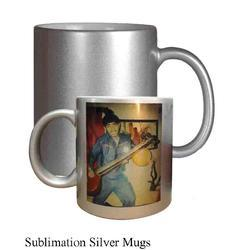 Sublimation Silver Mugs