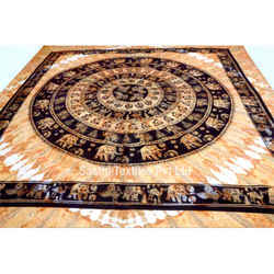 Indian Mandala Tapestry Bohemian Bed Sheet