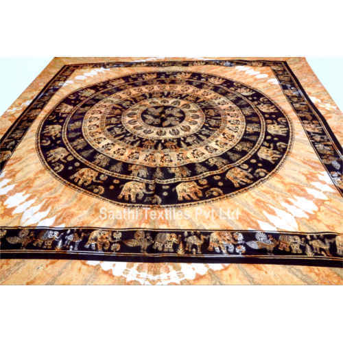 Indian Mandala Tapestry Bohemian Bed Sheet