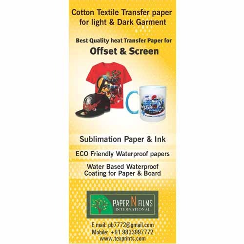 heat transfer paper buy india Usa heat transfer paper from america manufacturers and exporters - usa b2b marketplace providing heat transfer paper offers and catalogs from pre-verified usa.