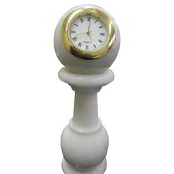 Marble Handicraft Clock