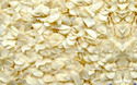 Dehydrated White Garlic Flakes