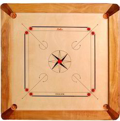 Natural Carrom Board Delight