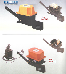 Counter Weight Gravity Limit Switch