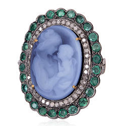 Cameo Ring Jewelry