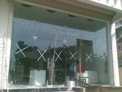 Tuffend Glass and SS Front Door Entry Door