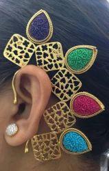 Fancy Designer Ear Cuff