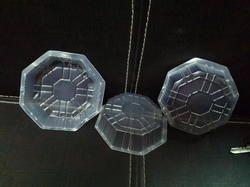 plastic dona octa square round