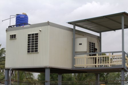 Container Farm House