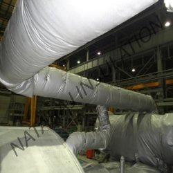 Removable Insulation Jacket for Pipe System