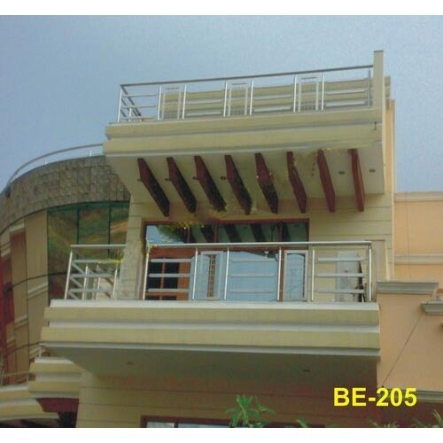 Balcony railings at rs 500 kilogram s industrial area for Balcony designs for indian houses