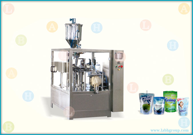 Automatic Horizontal Pick Fill and Seal Pouch Packaging Machine for Liquids