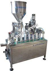 Semi Automatic Tube Filling & Sealing Machine