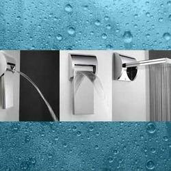 designer taps and showers