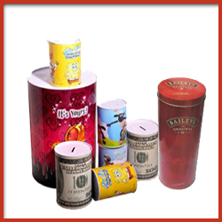 Printed Metal Tin Packaging Containers