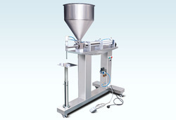 Semi Automatic Paste Filler