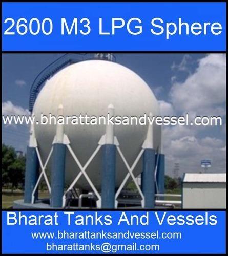 2600 M3 LPG Sphere Tank