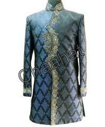 Beige Banarasi Designer Wedding Suits
