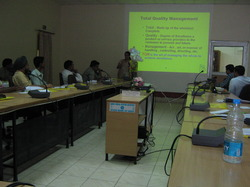 Training On Total Quality Management