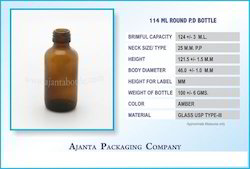 114 Ml Round P.D Bottle