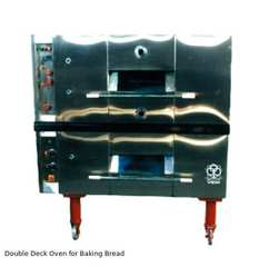 Double Deck Oven for Baking Bread