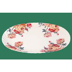 Plastic Rice Plate