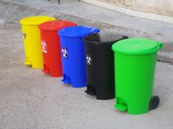2 Wheeled Dustbins 55L