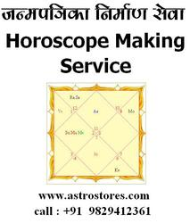 HOROSCOPE MAKING WITH PREDICTIONS