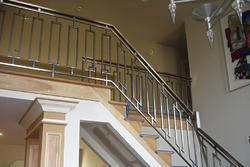 steel and metal railing