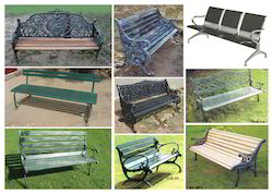 Stylish Park Bench