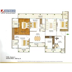 Four Bedroom Flats in Delhi - NCR