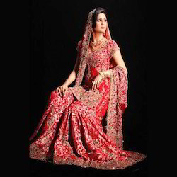 Designer Gharara With Zardozi Work