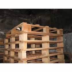 Rubber Wooden Pallets