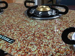 Red Marble LP Gas Stove