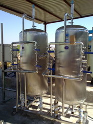 Stainless Steel Water Softeners