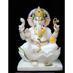 Ganesha Marble Murti