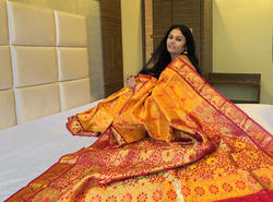 Pure+Silk+With+Jari+Saree