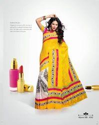 Classical Designer Printed Sarees