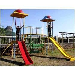 Park Playground Slide Stations