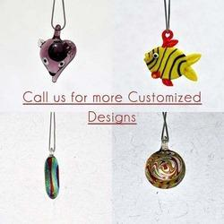 murano glass flame working jewellery pendants