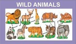 Wooden Cutout -  Wild Animals