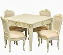 French Wooden Dining Table