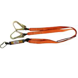 Forked Lanyards with Energy Absorber