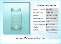Plain Glass Jar