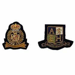 Embroidered Badges Blazer