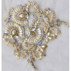 Designer Pearl Fancy Embroidery Work